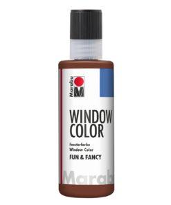 Marabu Window Color fun & fancy 046 mittelbraun 80 ml