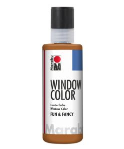 Marabu Window Color fun & fancy 047 hellbraun 80 ml