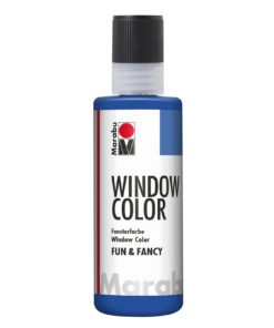 Marabu Window Color fun & fancy 055 ultramarinblau 80 ml