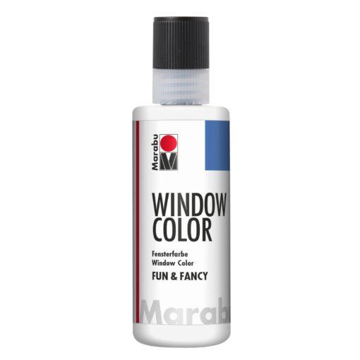 Marabu Window Color fun & fancy 070 weiß 80 ml