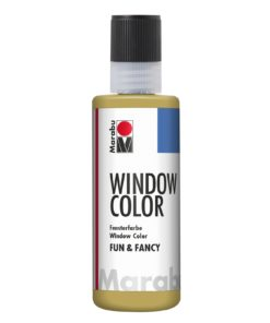 Marabu Window Color fun & fancy 084 Konturen gold 80 ml