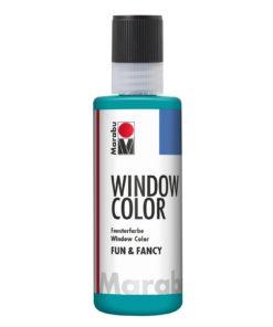 Marabu Window Color fun & fancy 098 türkisblau 80 ml