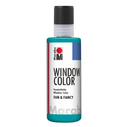 Marabu Window Color fun & fancy 098 türkisblau 80 ml