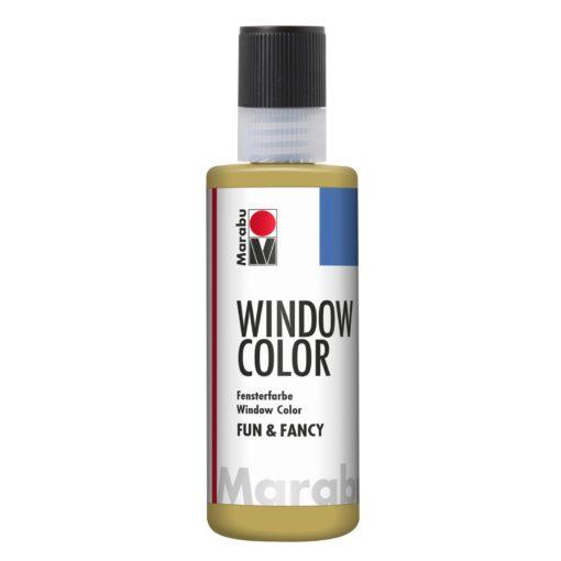 Marabu Window Color fun & fancy 183 gold 80 ml
