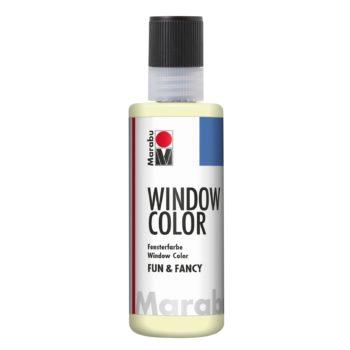 Marabu Window Color fun & fancy 872 nachtleucht-gelb 80 ml