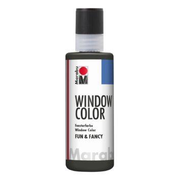 Marabu Window Color fun & fancy 874 Konturen Blei-Metallic 80 ml
