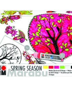 "Marabu Window Color fun & fancy ""Spring Season"" 10er Set"