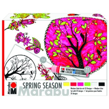 "Marabu Window Color fun & fancy ""Spring Season"" 10er Set"