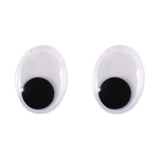 ovale Plastik-Wackelaugen 20mm