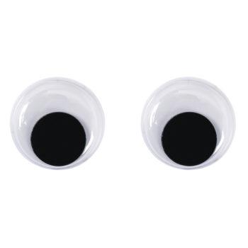 runde Plastik-Wackelaugen 15mm