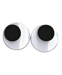 runde Plastik-Wackelaugen 20mm