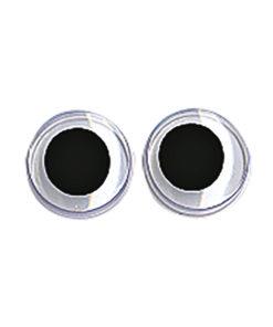 runde Plastik-Wackelaugen 8mm