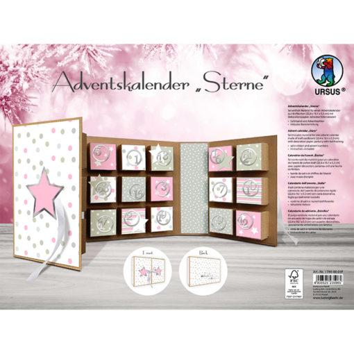 "Adventskalender Buch ""Sterne"""