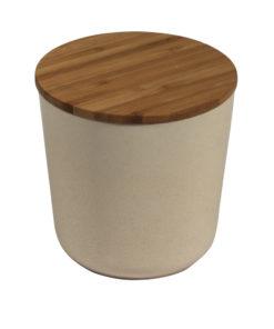 Bambus Vorratsdose rund, 450ml