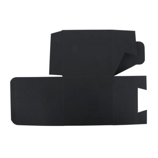 Faltschachtel in schwarz