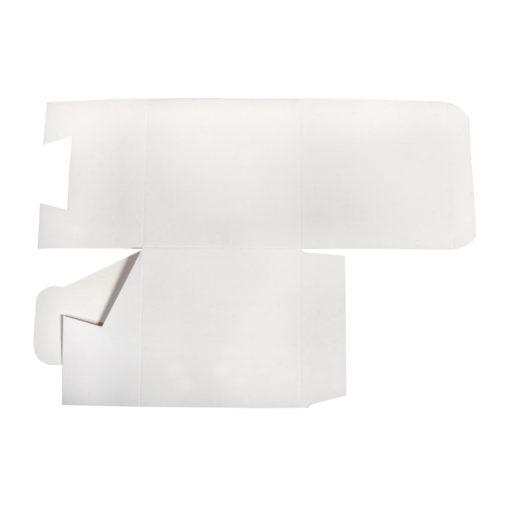 Faltschachtel in weiß
