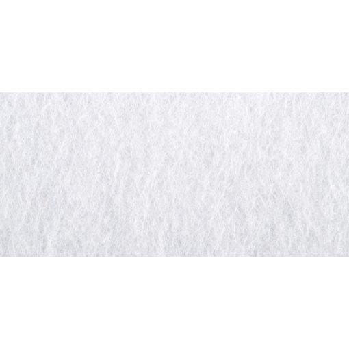 Filzzuschnitt Weiß