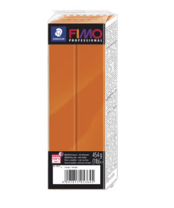 Fimo Professional Großblock, 174x60x33mm, 454g, orange