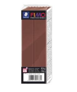 Fimo Professional Großblock, 174x60x33mm, 454g, schokolade