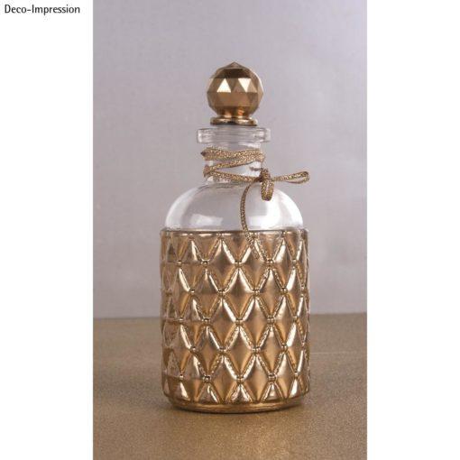 Dekoidee mit High gloss Metallic Spray in gold