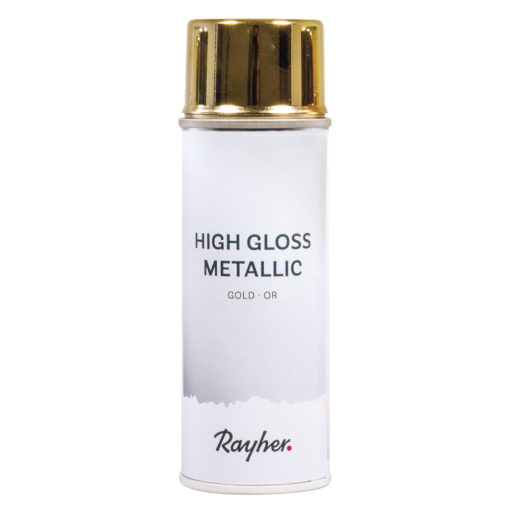 High gloss Metallic Spray in gold