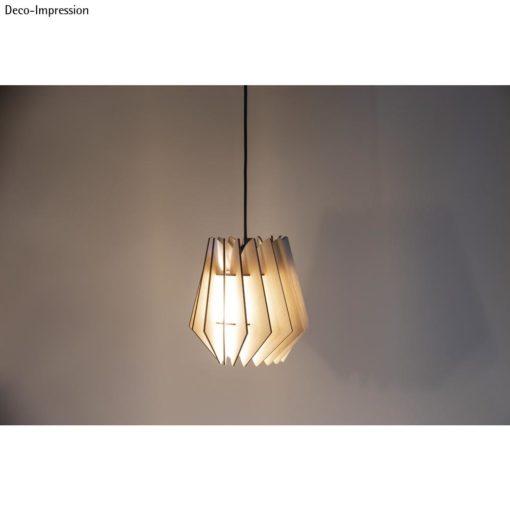 Holz Lamellenlampe Oslo