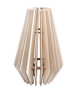 Holz Lamellenlampe Stockholm