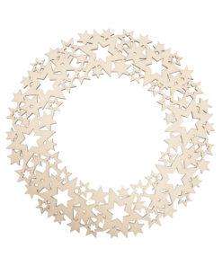 Holzornamentkranz, Sterne