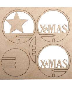 Holzsteckteil XMAS