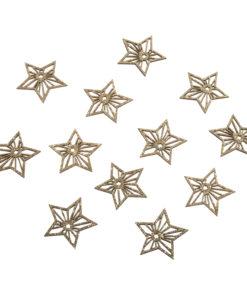 Holz Streuteile Sterne