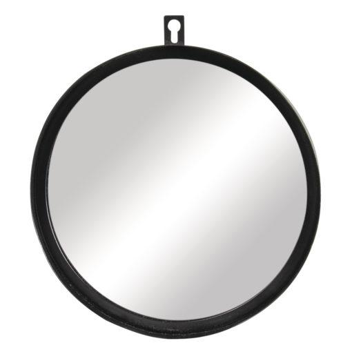Metall Spiegel in schwarz