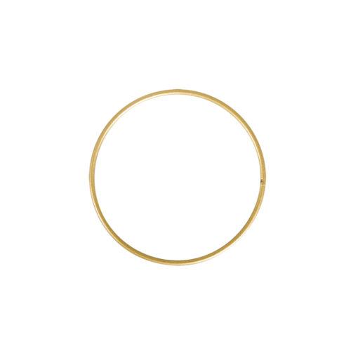 Metallringe beschichtet, 10cm ø, gold