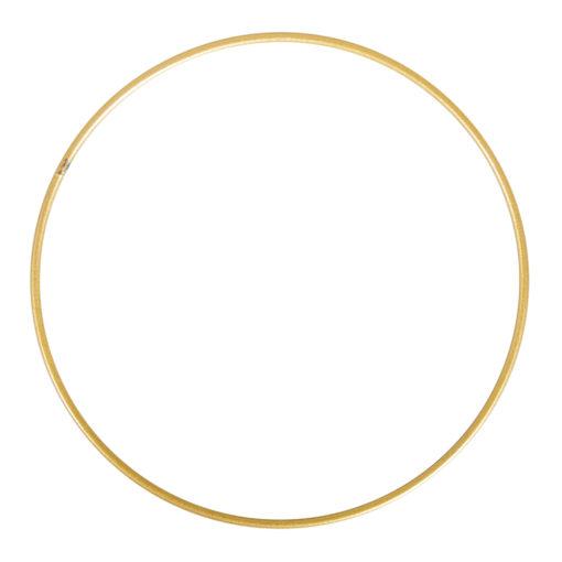 Metallringe beschichtet, 25cm ø, gold