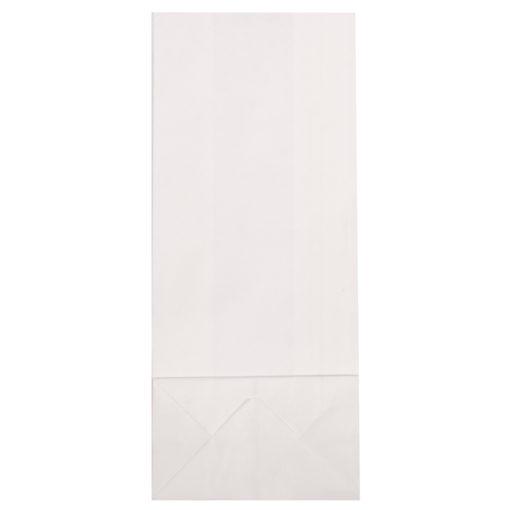 Papier Blockbodenbeutel, weiß