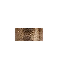 Streuflitter in kupfergold