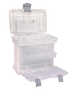 Tragebox mit 4 Sortimentskästen