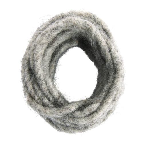 Wollkordel mit Drahtkern