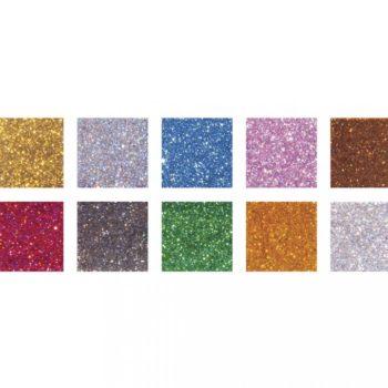 Acryl-Mosaiksteine Mischung, Glitter