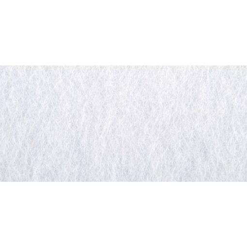 Bastelfilz, 20 x 30 cm, in weiß