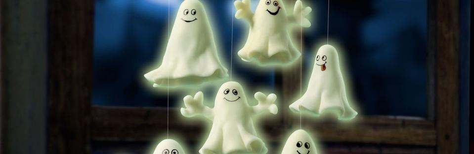 Gespenster aus Fimo