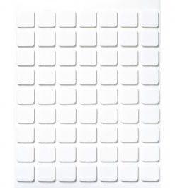 Klebeplättchen für Papier