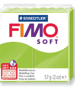 Ofenhärtende Modelliermasse Fimo, apfelgrün