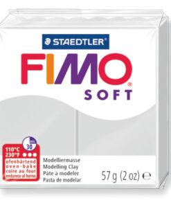 Modelliermasse Fimo Soft, delfingrau