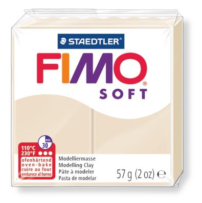 Ofenhärtende Modelliermasse Fimo, sahara