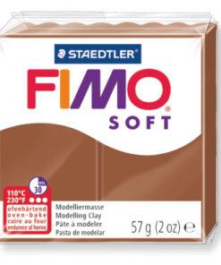 Ofenhärtende Modelliermasse Fimo, caramel
