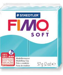 Ofenhärtende Modelliermasse Fimo, pfefferminz
