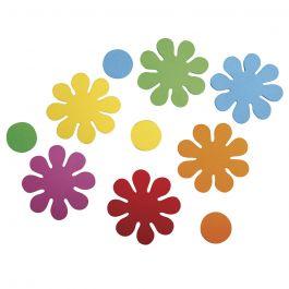 Formteile Blumen aus Moosgummi