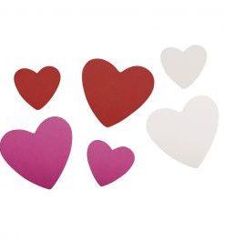 Crepla Herzen zum Basteln und Verzieren