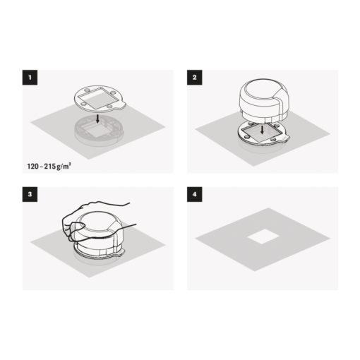 Fliegender Stanzer Anleitung