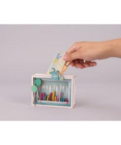 Geschenkbox Happy Birthday aus Holz